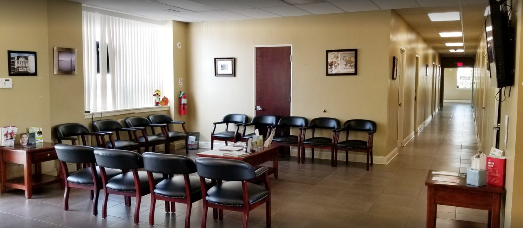 OccuMed Primary Care clinic, patient room, Whiting, IN